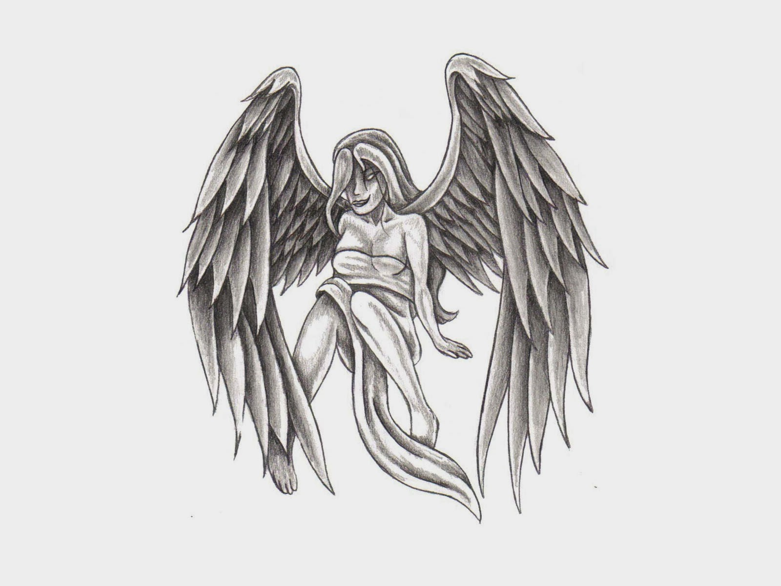 tattoo art most excellent images of angel wings tattoos. Black Bedroom Furniture Sets. Home Design Ideas