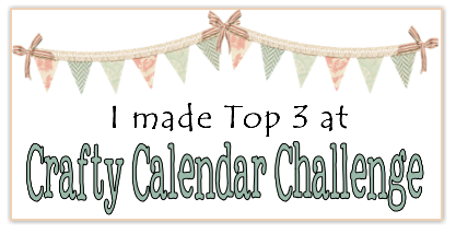 Crafty Calendar Challenge Top 3