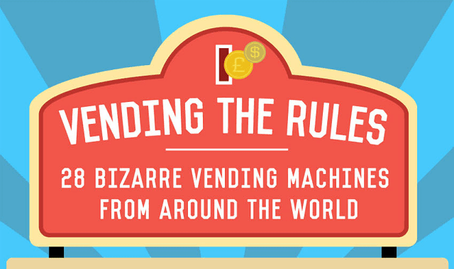 Vending The Rules: 28 Bizarre Vending Machines From Around The World