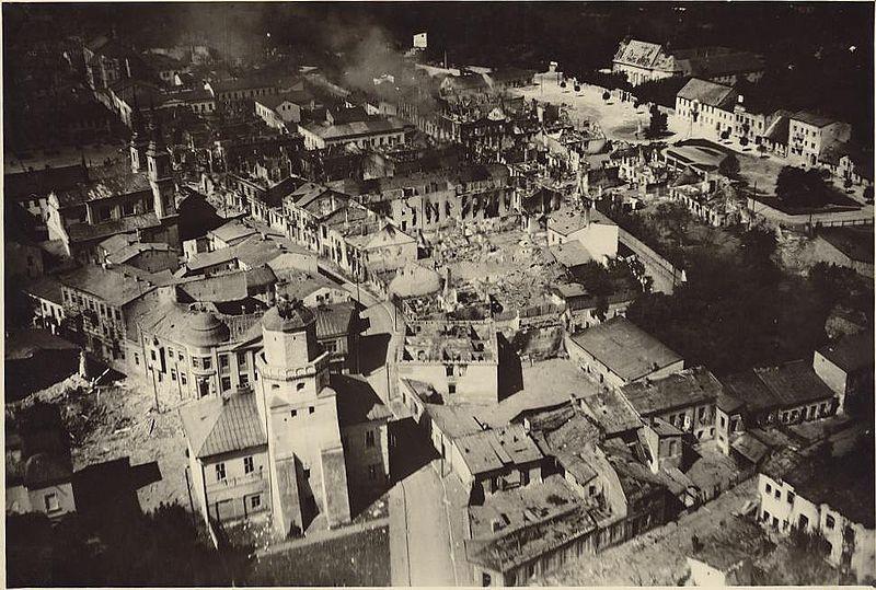 Wieluń, 1° de septiembre de 1939