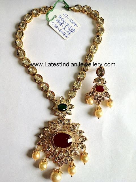 simple pachi necklace
