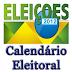 Veja o calendário eleitoral de junho de 2012