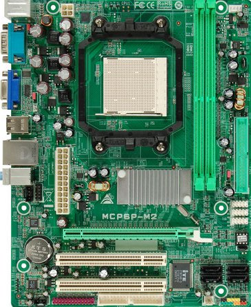 Select Biostar Motherboard MCP6P M2 driver for download
