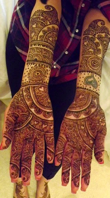 Best Bridal Mehndi : Best bridal mehndi designs collection indian