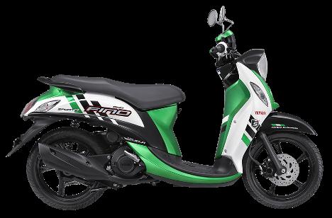 Yamaha Fino FI 2014 terlihat lebih segar