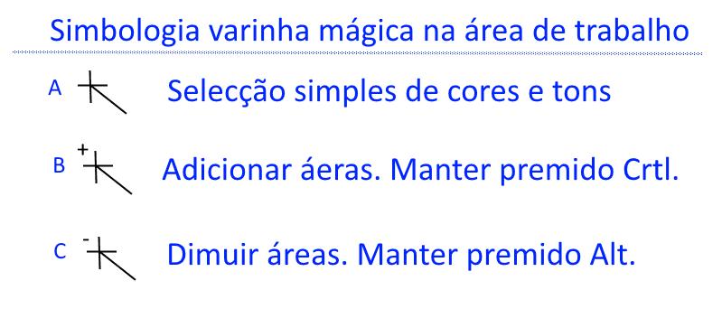 Paint.NET Simbologia varinha mágica na área de trabalho