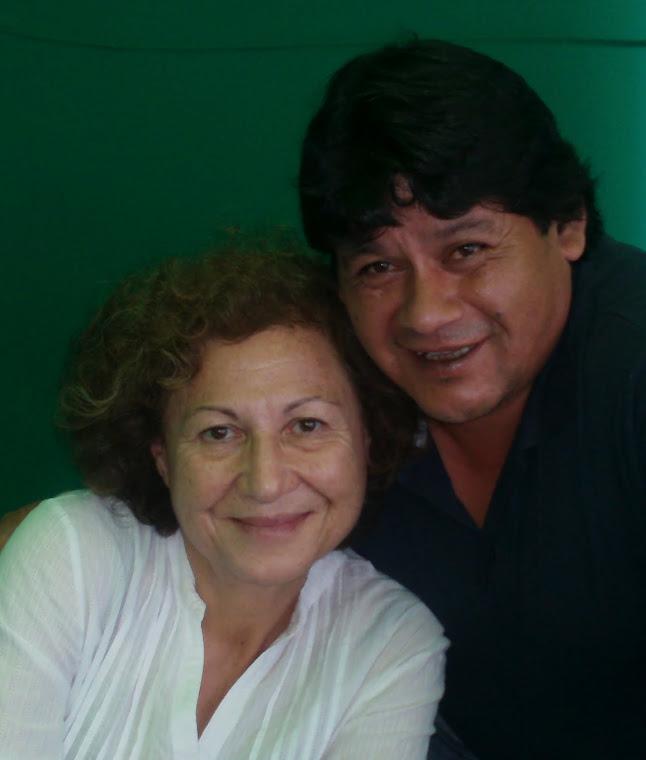 Con Teresita Reyes