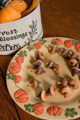 """Fall """"Acorn"""" Cookies-The Unlikely Homeschool"""
