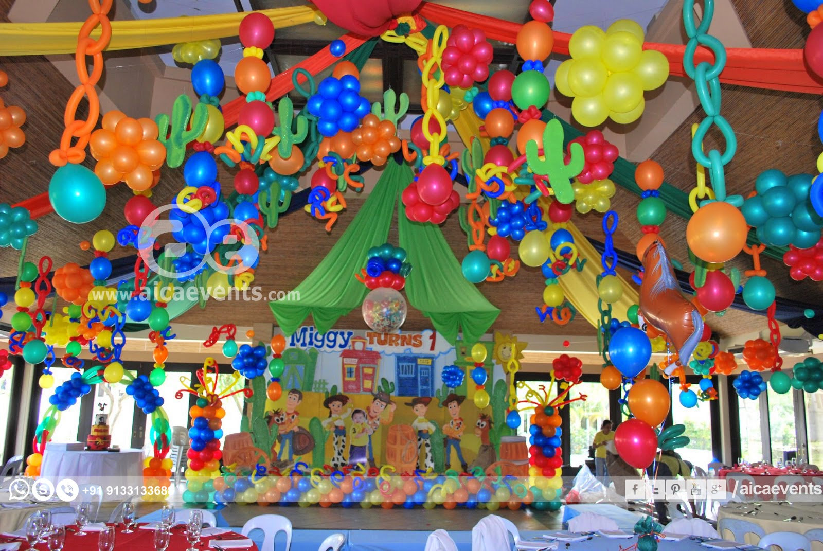 Toy Story Party Ideas Decorations : Aicaevents toy story theme birthday party decorations