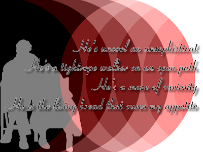 When He's Not Around - The Corrs Song Lyric Quote in Text Image