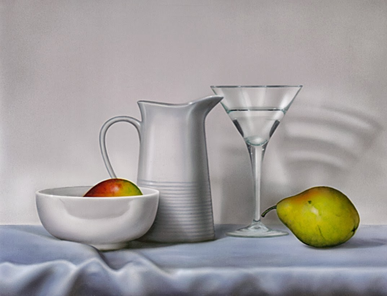 Pintura moderna y fotograf a art stica en cristal for Frutas de cristal