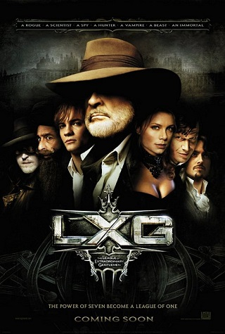 league of extraordinary gentlemen The League of Extraordinary Gentlemen (2003) 720p BRRip 650MB