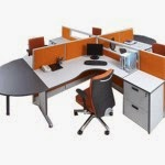 Kantor Partisi Modera Workstation 1-5-Series