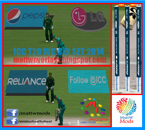 T20 World Cup 2014 Graphic Set (GFX Set) for EA Cricket 07