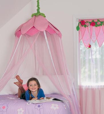 Garden Hideaway  sc 1 st  Decor Look Alikes & Pottery Barn Kids Rose Petal Canopy | Decor Look Alikes