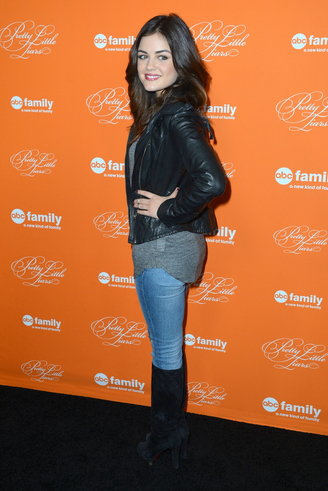 Gossip withouttheguild lucy hale and sasha pieterse at abc familys lucy hale and sasha pieterse at abc familys pretty little liars halloween episode premiere altavistaventures Image collections