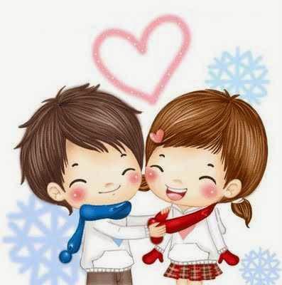 Gambar Kartun Orang Jatuh Cinta