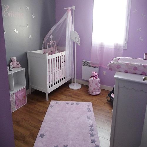 D coration de chambre de b b fille b b et d coration - Decorer une chambre ...