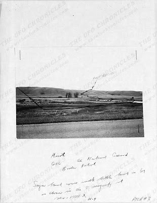 UFO Landing in Minot Missle Field Near Donnybrook, North Dakota (Photo 3)  (Edt) 8-19-1966
