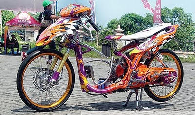 modifikasi yamaha mio drag 12 Kumpulan Gambar Modifikasi Mio Matic Drag