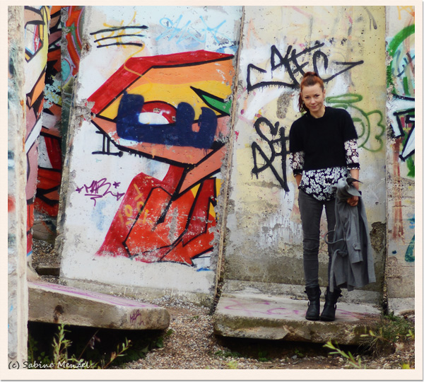 Psynopsis Berlin Wall Zign Boots Next Trousers Vintage Jaeger Blouse