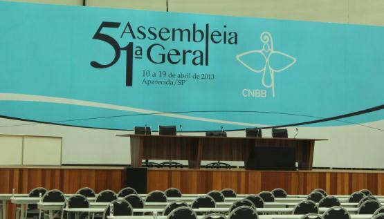 CNBB conta com infraestrutura do Santuário Nacional para realização da 51ª Assembleia