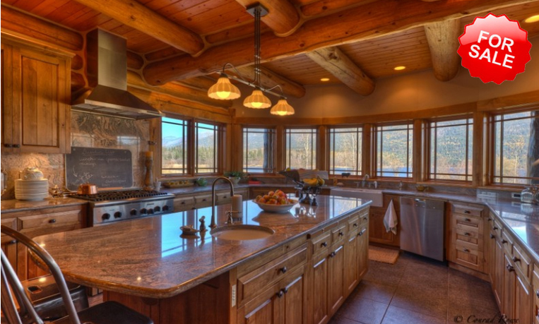 Luxury Log Homes And Luxurious Living Luxury Home In Montana Got Its