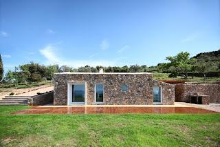 Casa Moderna de piedra