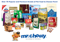 Mr. Chewy - New Customer Discount & Charitable Donation Code: 1ROO7629