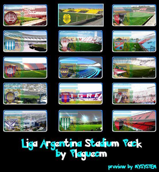 Descargar StadiumsPack De Argentina 2013 Map Para Pes 6