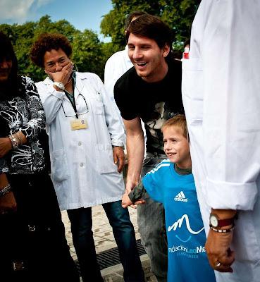 Lionel Messi se marcó otro golazo en labor social