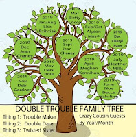 2018-2019 DOUBLE TROUBLE FAMILY TREE