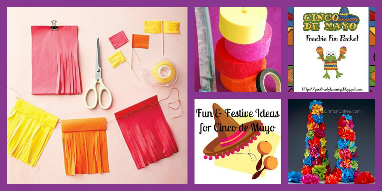 Cinco De Mayo Craft Collage