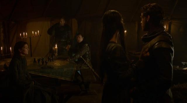 reunión robb tienda - Juego de Tronos en los siete reinos