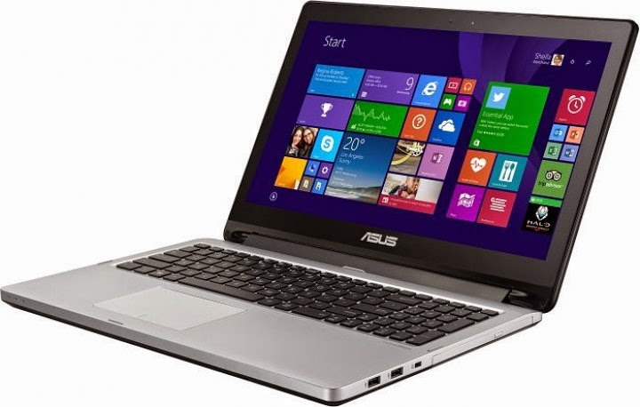 ASUS Laptop TP550LD Transformer Book Flip Intel Core i7 8GB RAM