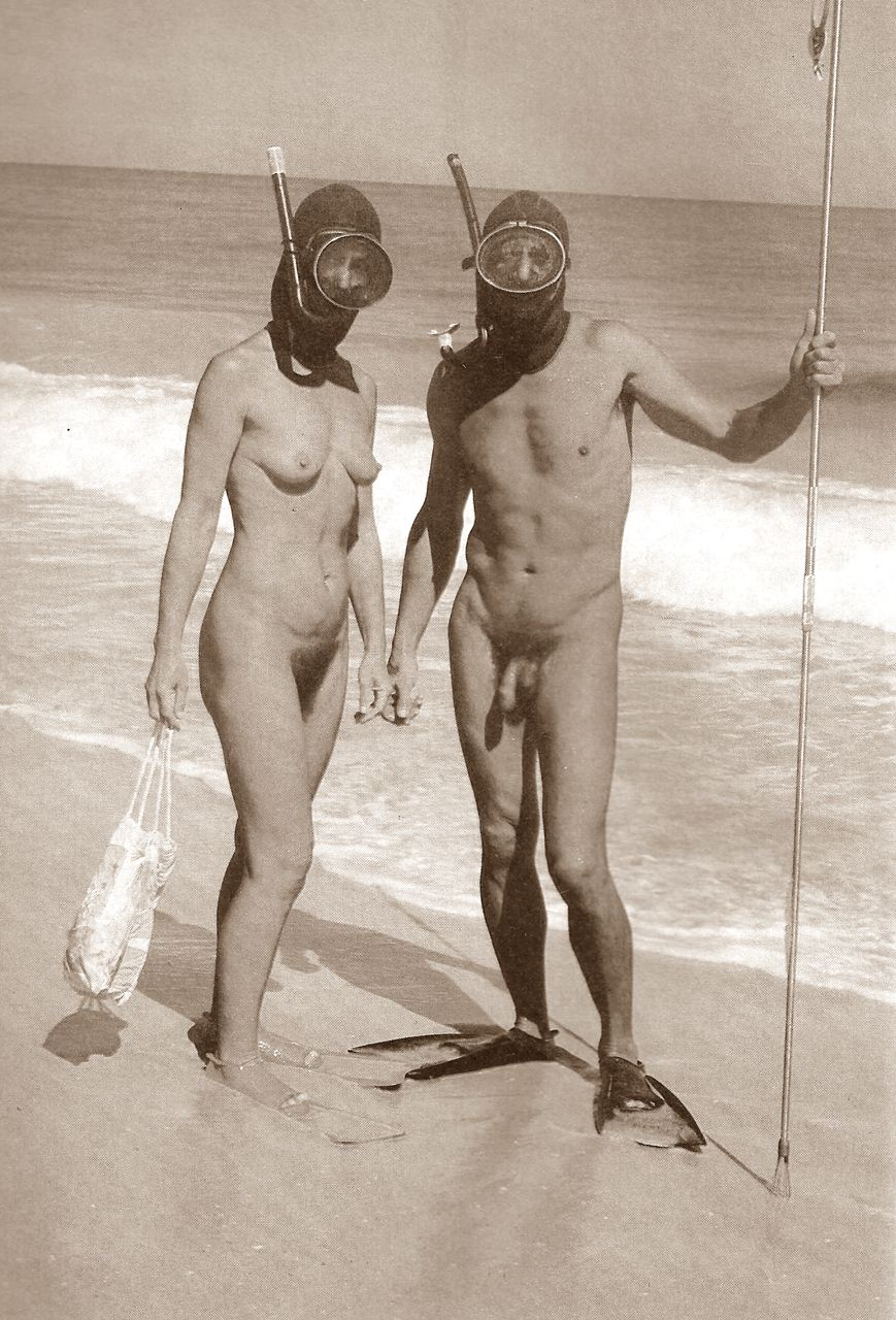 nude and erotic spearfishing