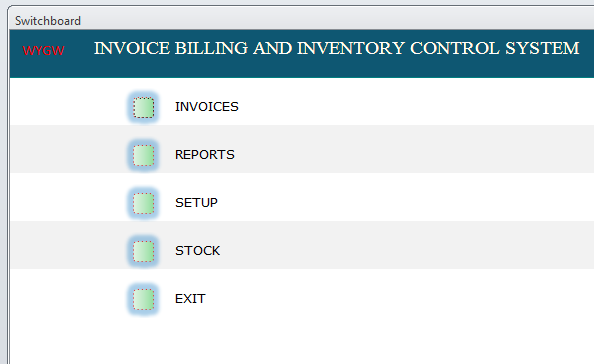 Simple and powerful Invoice and Inventory control system