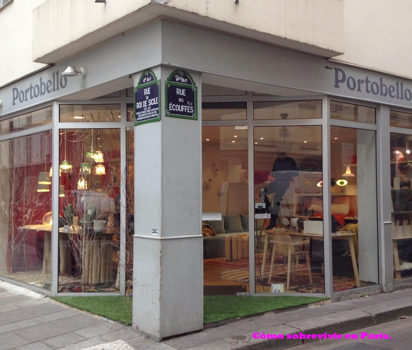 C mo sobrevivir en par s portobello tienda de decoraci n - Portobello decoracion ...