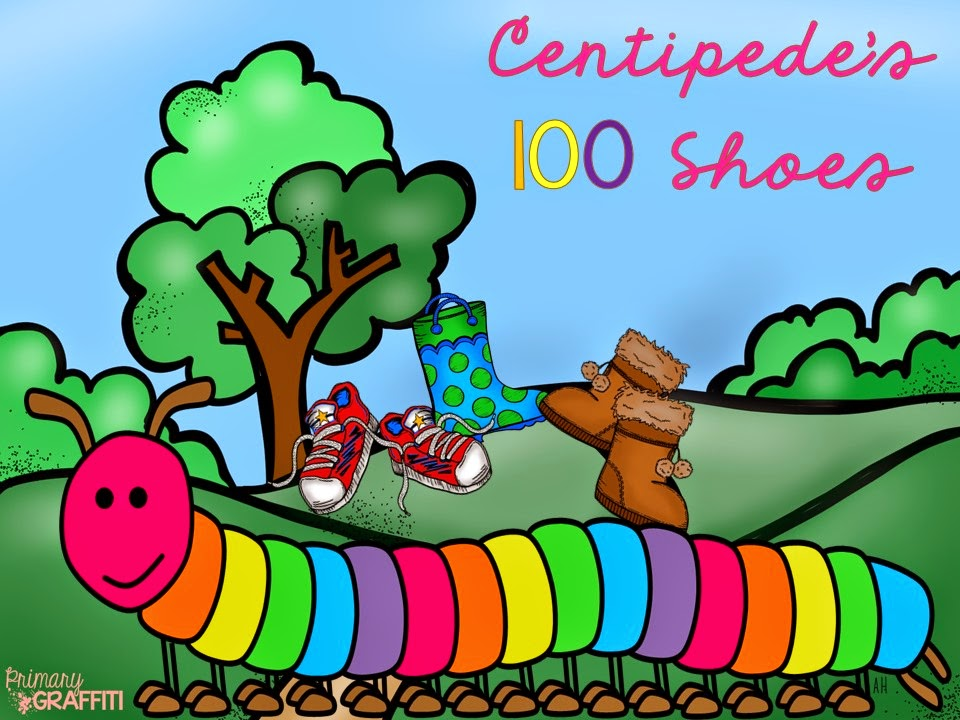http://www.teacherspayteachers.com/Product/Centipedes-100-Shoes-Integrating-Math-Literature-560322