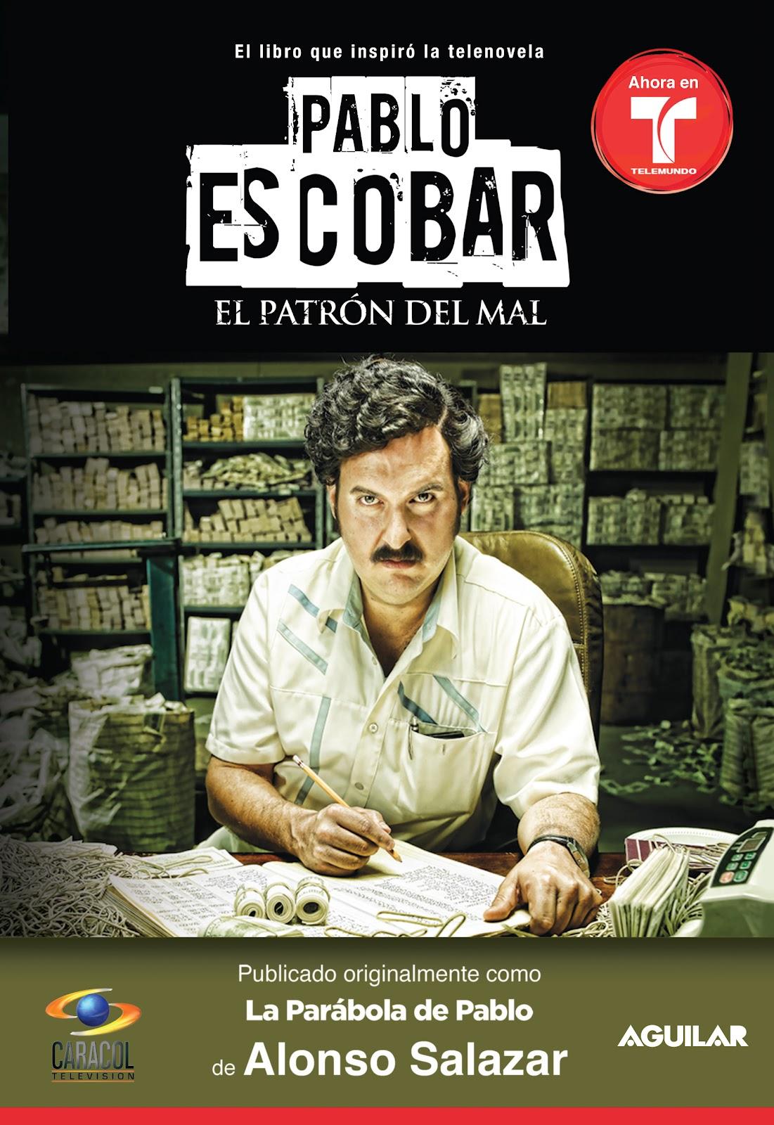 Llega el libro sobre Pablo Escobar a Estados Unidos