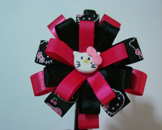 Pin pin cintillos decorados cintas lazos para ninas bebes - Lazos para bebes ...