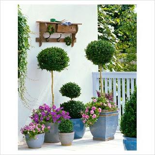 Azul vital decoraci n de jardines peque os for Adornos para jardines pequenos