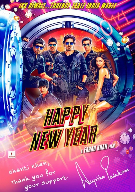 Deepika Padukone - Happy New Year 2014 Film HNY - Shanti Khan