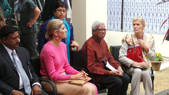 Queen Maxima's Visit To Bangladesh, Day 2