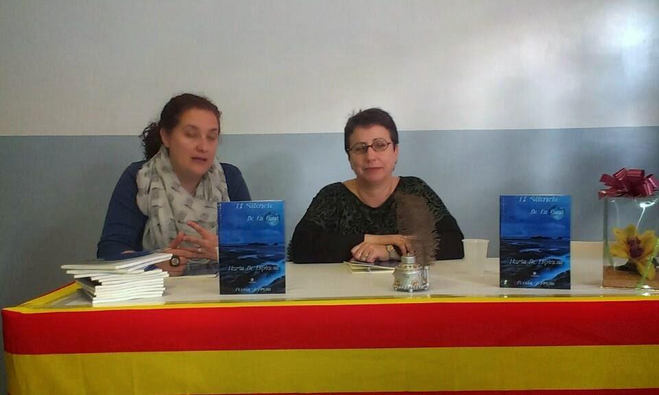 """4º Presentación del """"Silencio de la Luna"""" en Sala Mediatica Barcelona"""