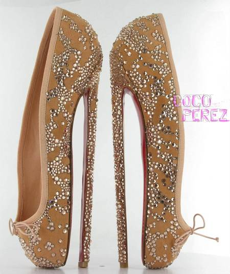 christian louboutin shoes worn in burlesque