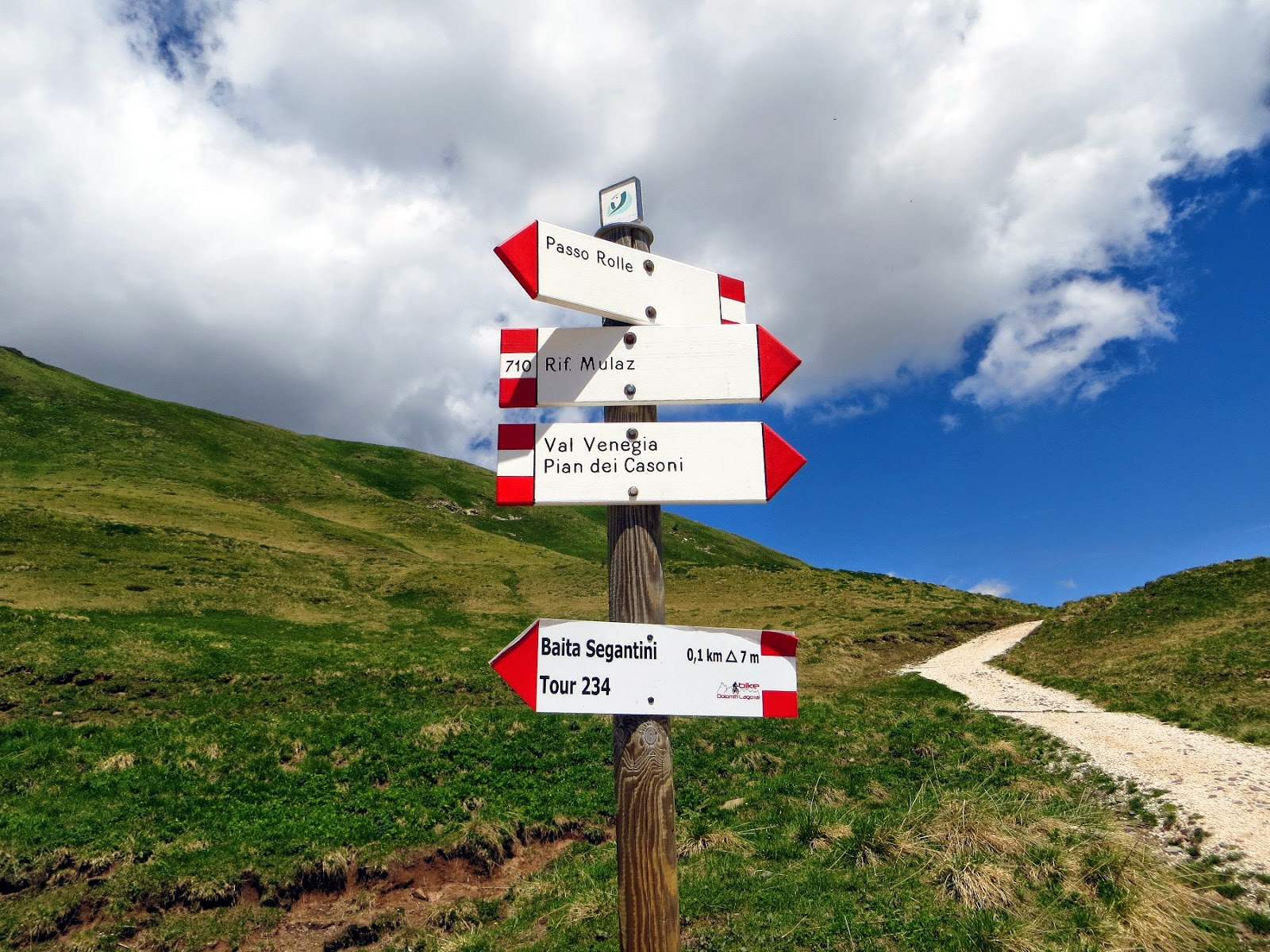 trekking cristo pensante e val venegia