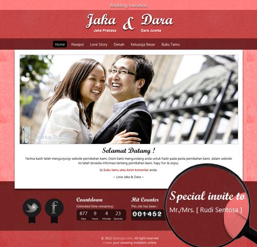 Undangan pernikahan online undangan pernikahan online