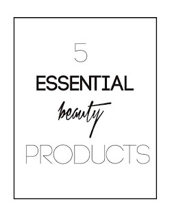 5 essential beauty products