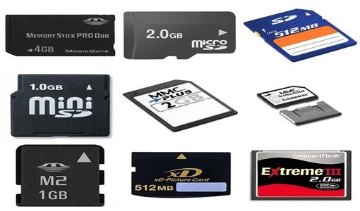Escolha o cartão certo para sua máquina digital